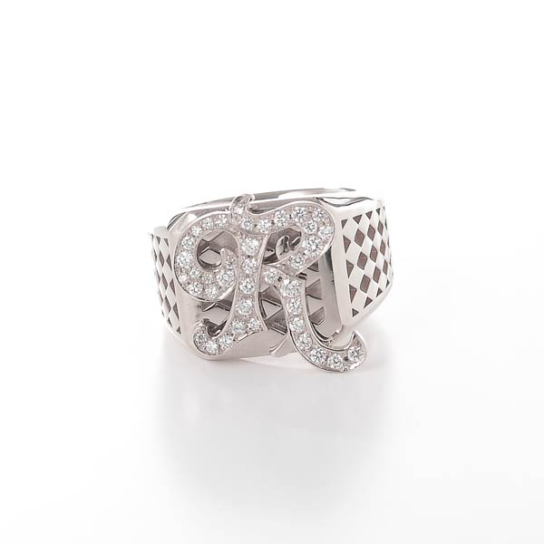 Initial RING / PLATINUM A-Z